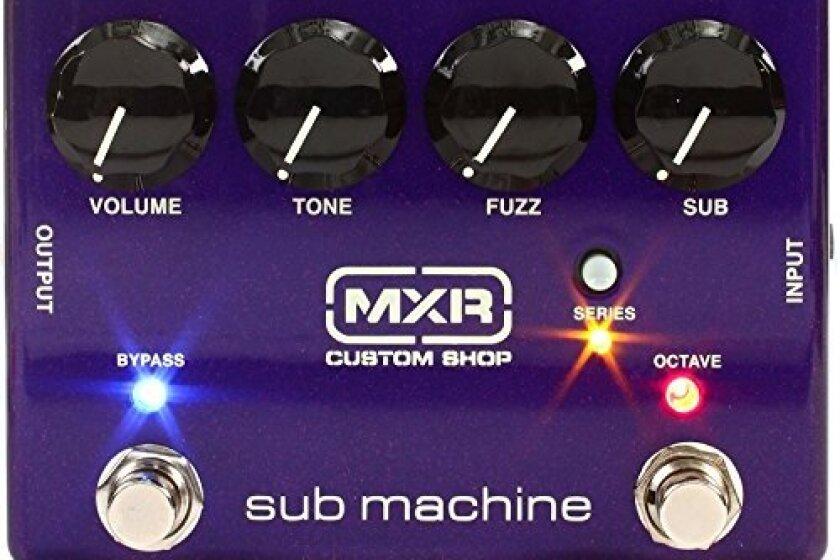 MXR Sub Machine Octave Fuzz Pedal