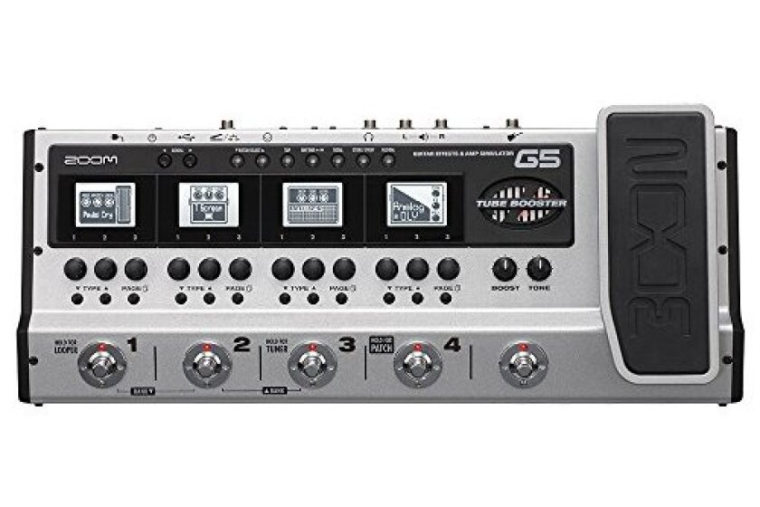 Zoom Telephonics G5 Guitar Effects and Amp Simulator