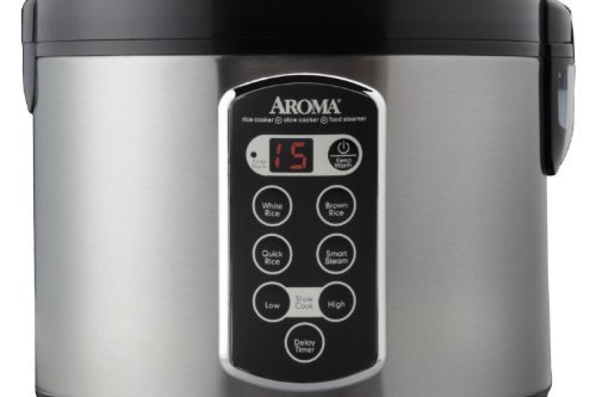 Aroma Professional Cool Touch Rice Cooker, Food Steamer and Slow Cooker