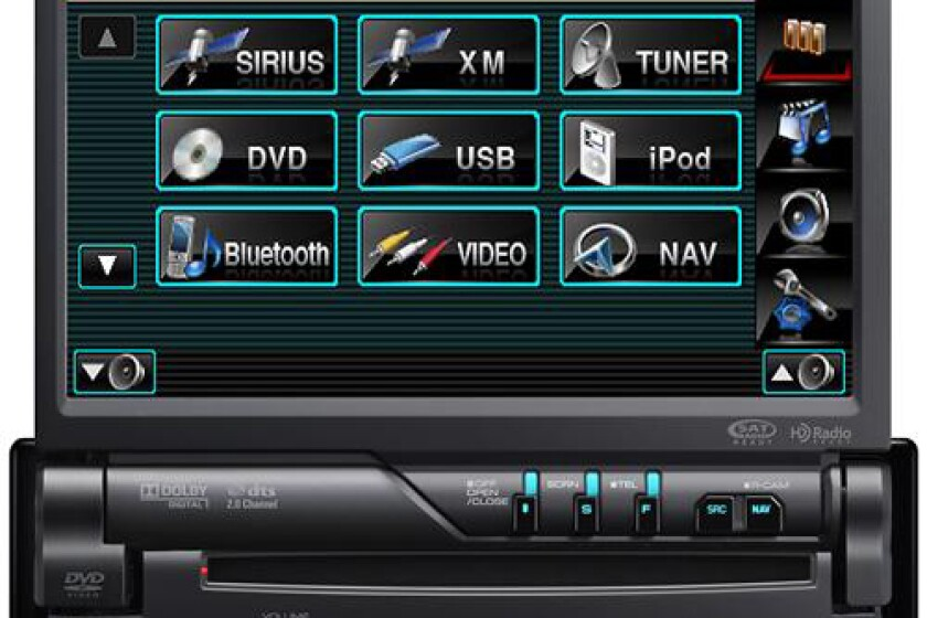 Kenwood KVT-516 DVD Receiver