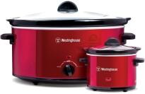 best Westinghouse WSC801RD 8-Quart Metallic Slow Cooker