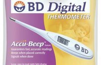 BD Digital Thermometer