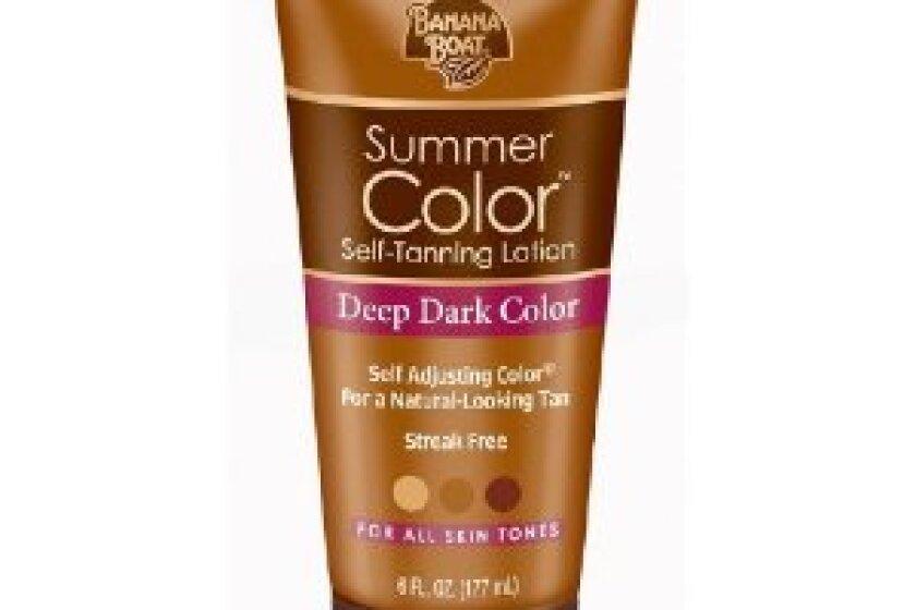 Banana Boat Summer Color Self-Tanning Lotion