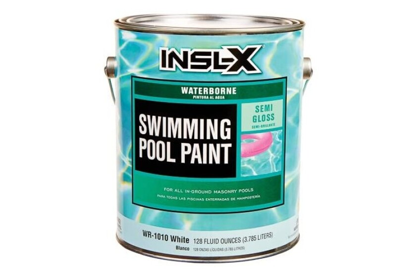 best Insl-X WR-1010 Waterborne Acrylic Pool Paint