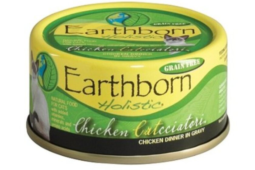 Earthborn Holistic Chicken Cacciatore Canned Cat Food