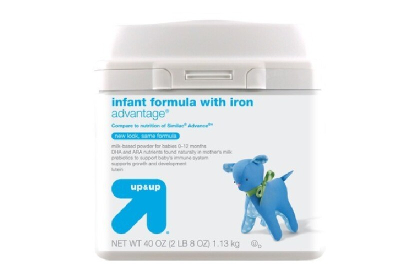 best Up & Up with Iron Baby Formula
