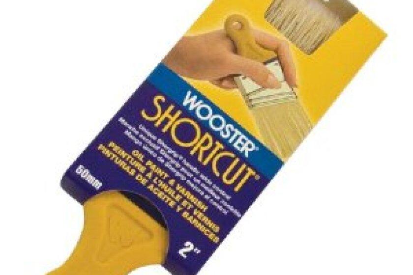 Wooster Brush Z3215-2 Shortcut White Bristle Angle Sash Paintbrush