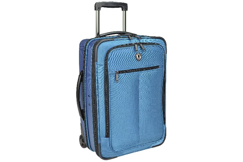 best Travelers Choice Siena 2-In-1 Hybrid Hard-Shell Carry-On Wheeled Garment Suitcase