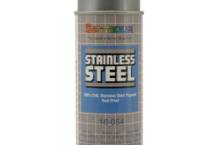 Seymour Stainless Steel Rust Protective Spray Paint