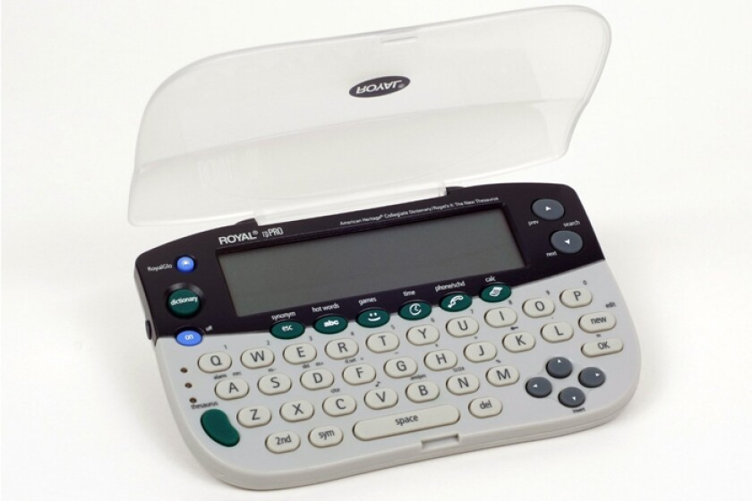 Royal Machines RP Pro 29534F American Heritage Electronic Dictionary