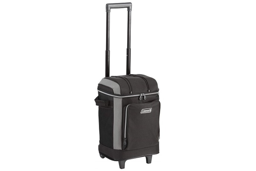 Coleman 42-Can Wheeled Soft Cooler With Hard Liner