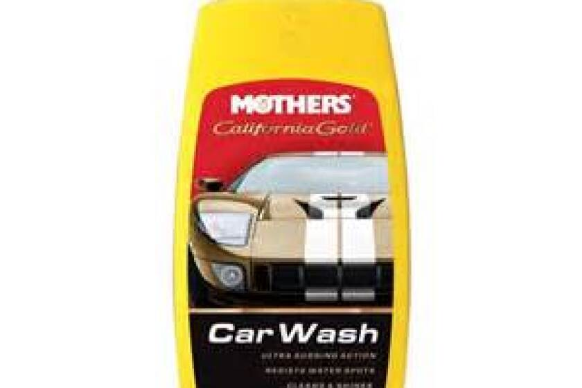 best car wash soap and shampoo