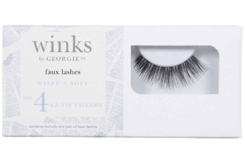 "Winks by Georgie - No. 4 ""La Vie Charme"" Faux Eyelashes"