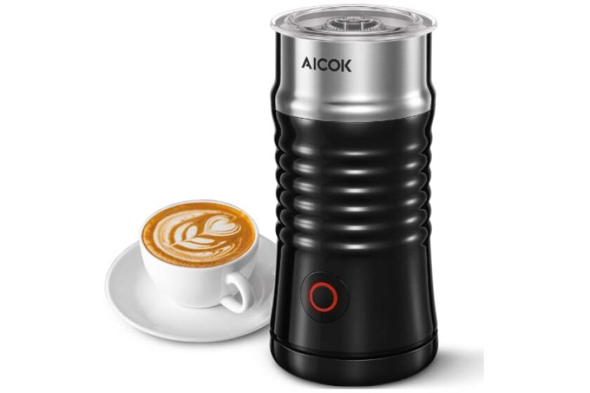 best Aicok Electric Milk Steamer