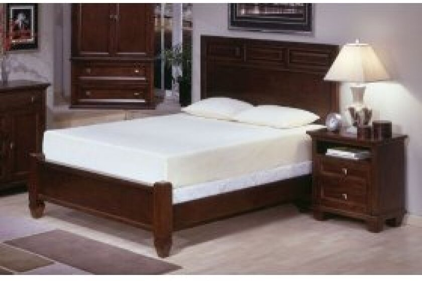 "Queen Deluxe 10"" Memory Foam Mattress"