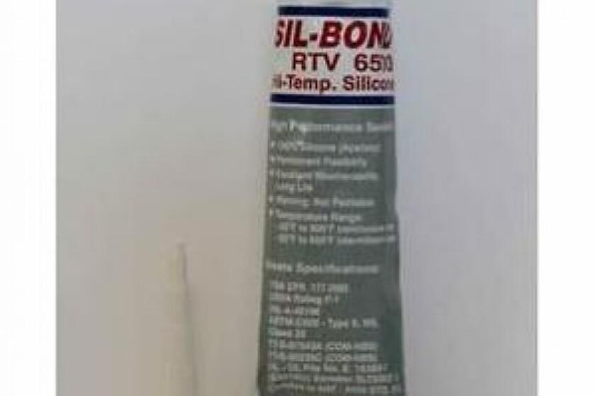 Sil-Bond RTV 6500 Food Grade Silicone Sealant Adhesive Red Hi-Temp 2.8oz