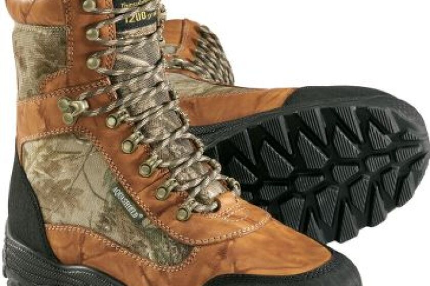 """Trekker 10"""" 1,200 Gram Insulated Waterproof Hunting Boots"""
