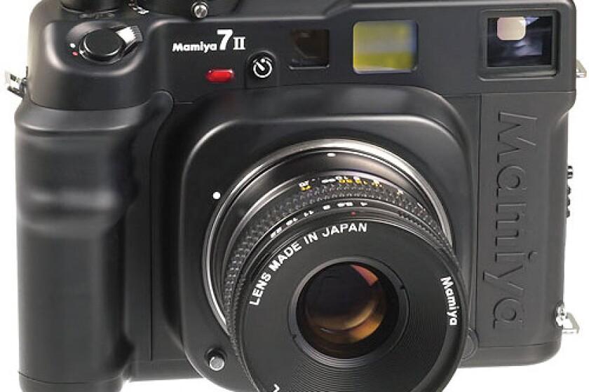 Mamiya 7 II Pro Vlaue Pack Medium Format Rangefinder Manual Focus Camera Body with 80mm f/4 lens