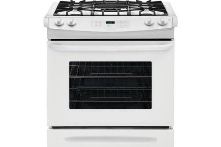 Frigidaire 4.6 Cu. Ft. White Gas Slide-In Sealed Burner Range - FFGS3025PW