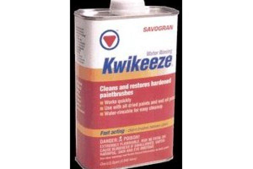 Savogran Kwikeeze Brush Cleaner