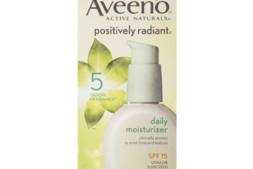 Aveeno Positively Radiant Daily Moisturizer Broad Spectrum SPF 15