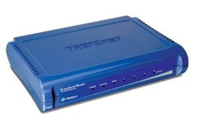 TRENDnet 4-Port Broadband Router TW100-S4W1CA