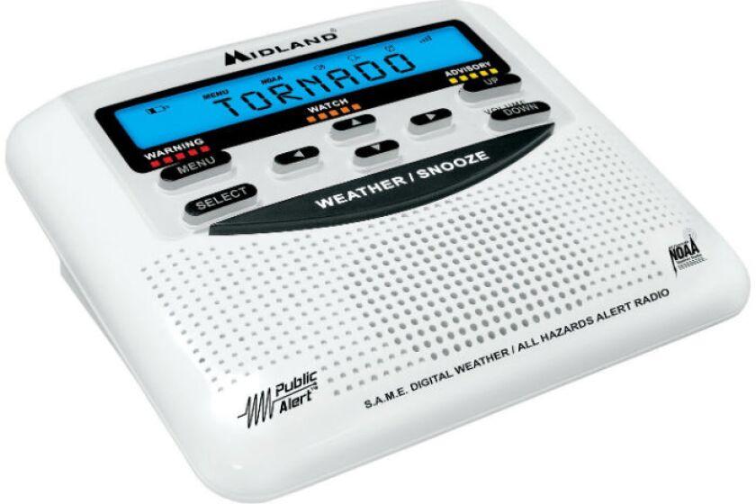 Midland Midland Wr120 All-hazard Weather Alert Radio