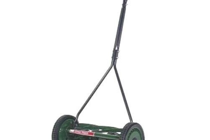 "Great States 705-16, 16"" Specialty Push Reel Lawn Mower, T-Style Handle"