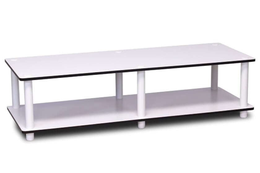 best no tools wide tv stand