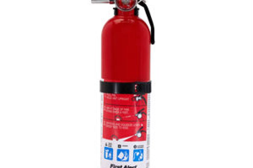 First Alert HOME1 Rechargable Fire Extinguisher