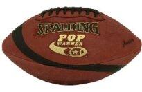 Spalding Pop Warner Leather Mitey Mite Football