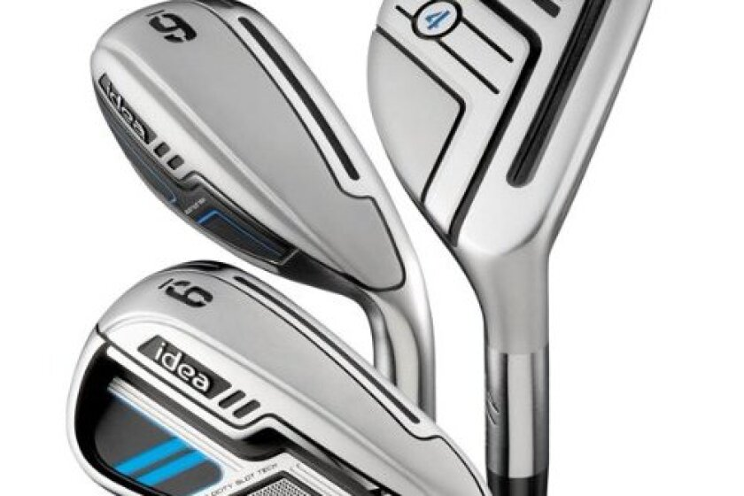 Adams Golf Men's New Idea Iron Set