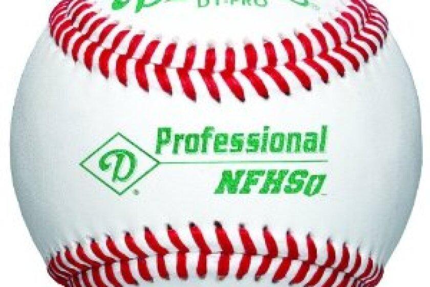 Diamond D1-PRO NFHS Professional League Leather Baseball
