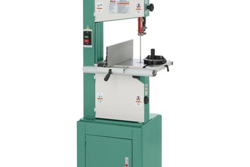 """Grizzly G0457 14"""" 2 HP Deluxe Bandsaw"""