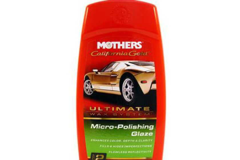 Mothers California Gold Sealer & Glaze