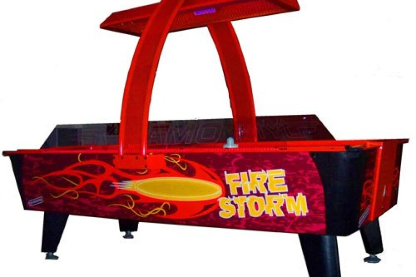 Dynamo Fire Storm Air Hockey Table