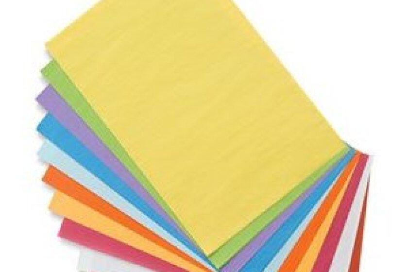 Blick Colored Tissue Assortments - Assortment of 10 Colors