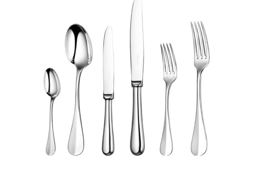 Christofle Fidelio 36-Piece Silver Plated Flatware Set