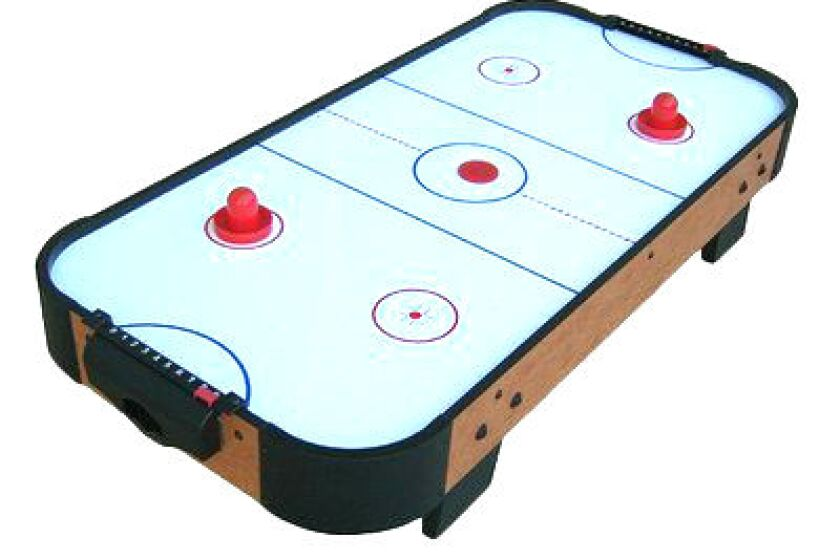 "Playcraft Sport 40"" Table Top Air Hockey by Playcraft"