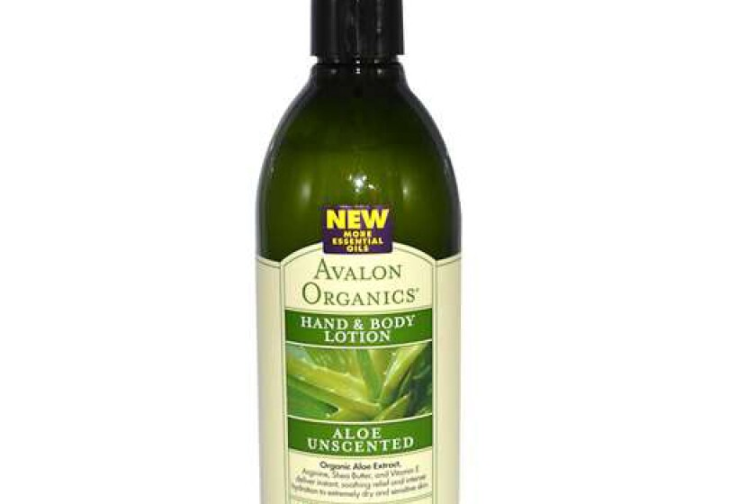 Avalon Organics Hand & Body Lotion Aloe Unscented