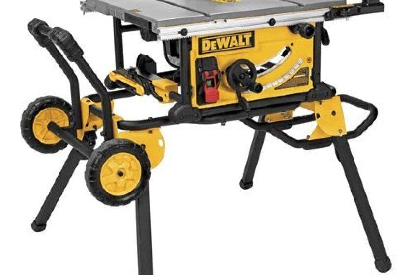 """DEWALT DWE7491RS 10"""" Jobsite Table Saw"""