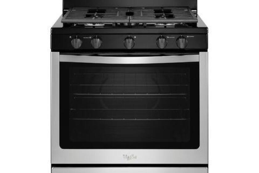 "Whirlpool 30"" Stainless Steel Gas Range - WFG505M0BS"
