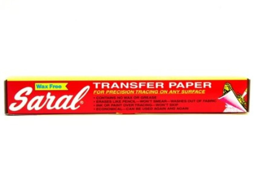 Saral Wax Free Transfer Paper