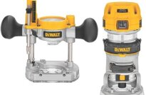 DEWALT DWP611PK 1.25 HP Max Torque Variable Speed Compact Router Combo Kit