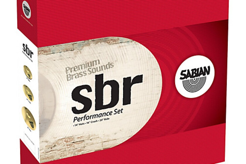 Sabian sbr Cymbal Performance Pack