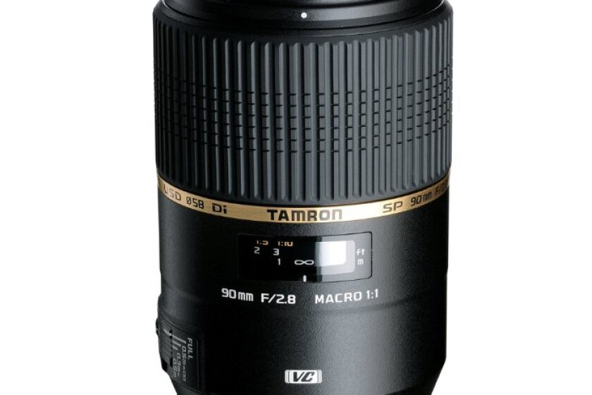Tamron 90mm f/2.8 SP Di Macro VC USD Lens for Canon