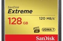 SanDisk Extreme 128GB CompactFlash Memory Card