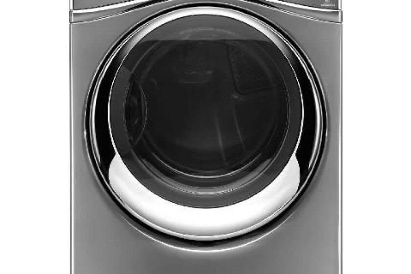 Duet 7.3 Cu. Ft. Chrome Shadow Electric Steam Dryer - WED97HEDC