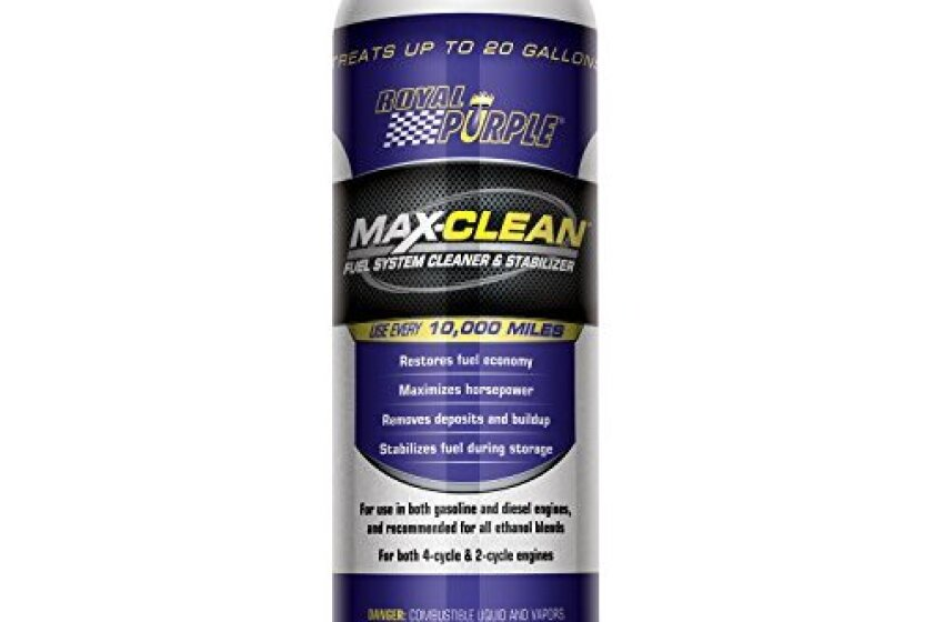 Royal Purple Max-Clean Fuel System Cleaner and Stabilizer (11722)