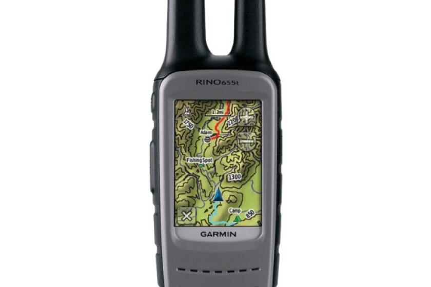 Rino 655t 2-Way Radio with GPS and TOPO 100K Maps
